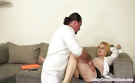 Saggytits euro grandma stripped and assfucked from behind - e-porn.net