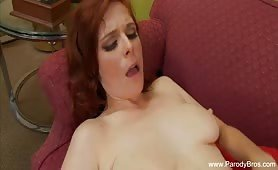 Redhead MILF Ravaged By Cock and Nailed it - e-porn.net