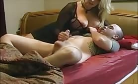 Stepmom Tucks You In With A Handjob - e-porn.net